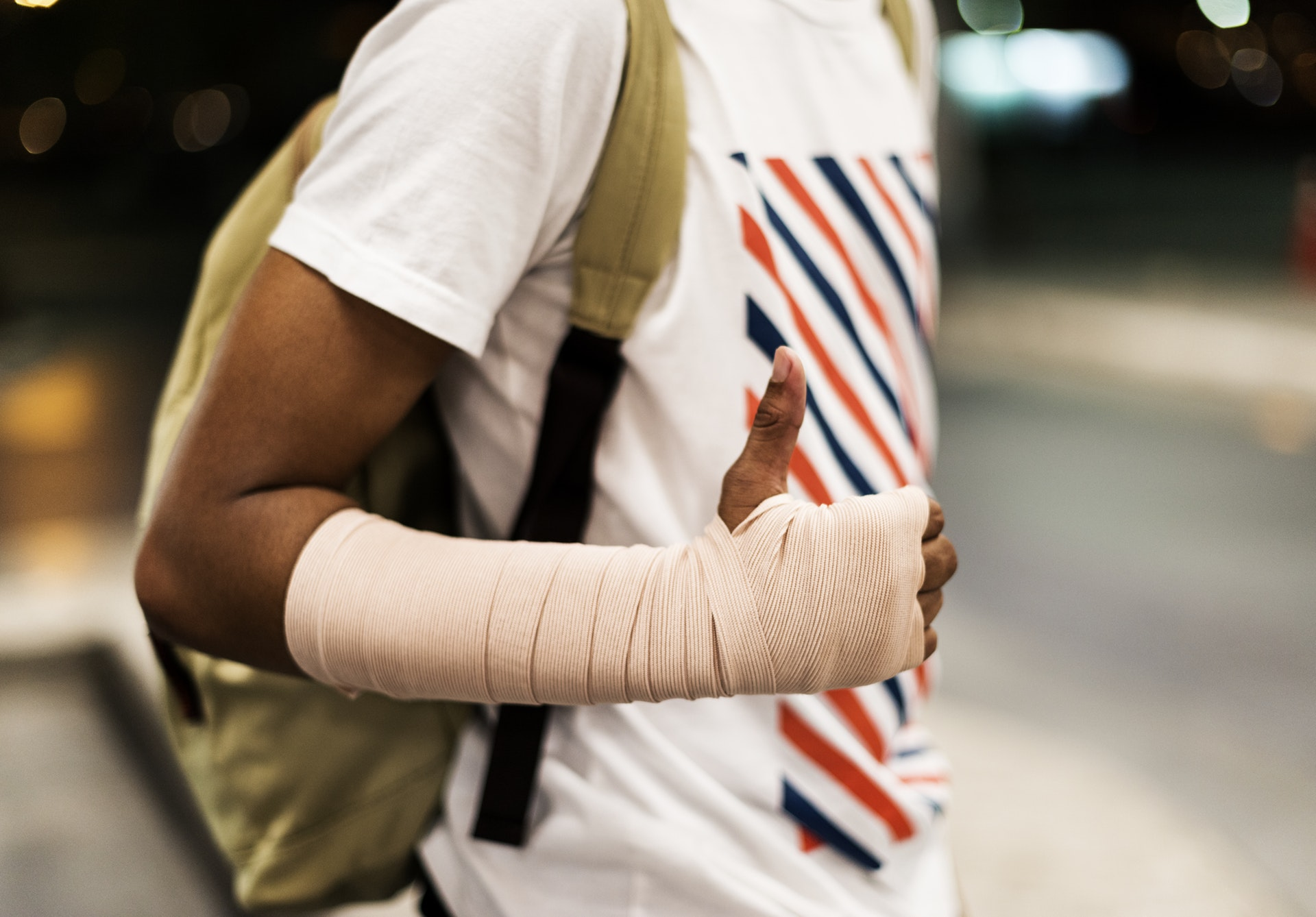 what to do if you fracture your hand in sports injury