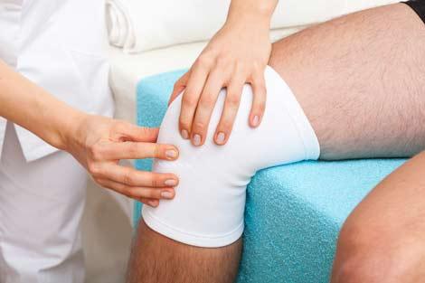 prp tratamiento en la rodilla lesionada
